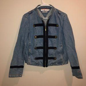 Tommy Hilfiger Denim Jacket with blue accent Mark
